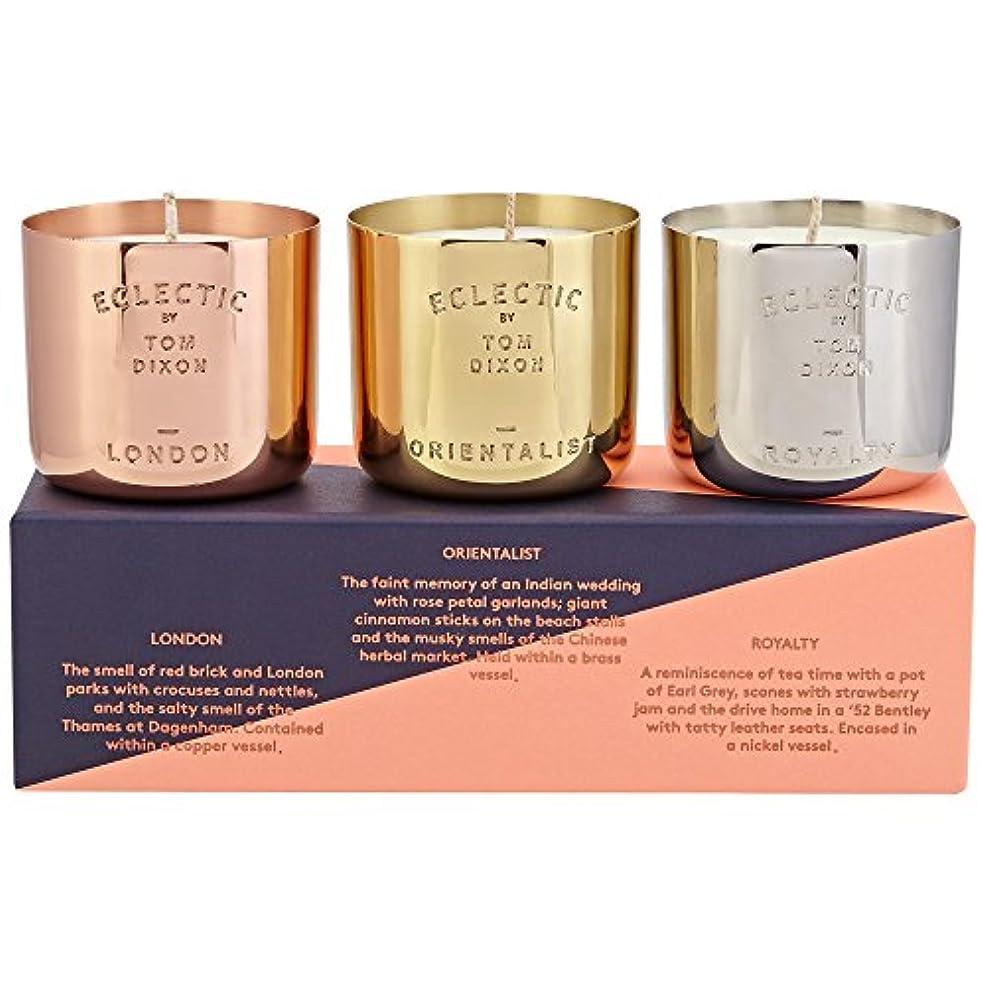 面誰も征服するTom Dixon Scented Candle Gift Set - トムディクソン香りのキャンドルギフトセット [並行輸入品]
