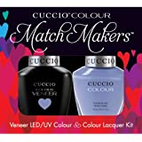 Cuccio MatchMakers Veneer & Lacquer - Jamaica Me Crazy - 0.43oz / 13ml Each