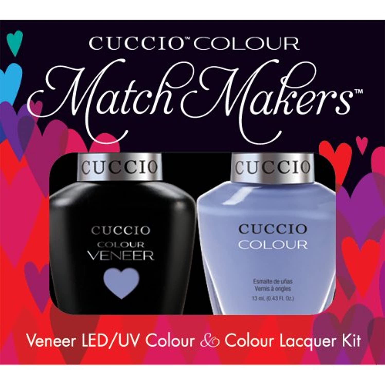 追い払うパトロンスピリチュアルCuccio MatchMakers Veneer & Lacquer - Jamaica Me Crazy - 0.43oz / 13ml Each
