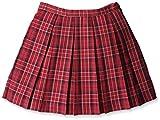 (コムサイズム)comme ca ism タータンチェックプリーツスカート 98-09FS07 10 レッド 120cm