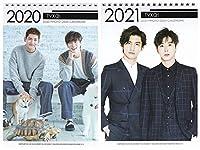 TVXQ! 東方神起 2020-2021年 2年分卓上カレンダー[2020-2021 K-STAR PHOTO DESK CALENDAR 2020-2021]