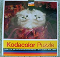 "Kodacolor 1000 Piece Jigsaw Puzzle""Pair O' Persians"""