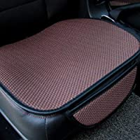 チャイルドシートカバーチャイルドシートクッション カーゴシリコーン滑り止めシートクッション5車汎用3Dアイスシルクスリーピース 季節9色の選択、#36 カーシートマットカーシートプロテクター (色 : #31)