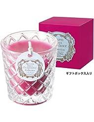 カメヤマキャンドル( kameyama candle ) セブンデイズグラスキャンドル(木曜日) 「 フィグ 」