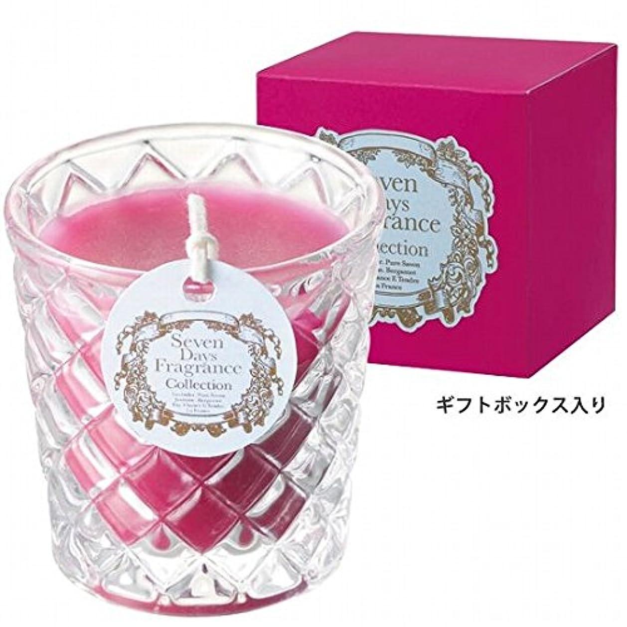 花姪恩赦カメヤマキャンドル( kameyama candle ) セブンデイズグラスキャンドル(木曜日) 「 フィグ 」