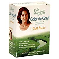 Color The Gray Light Brown - 7 fl oz by Light Mountain