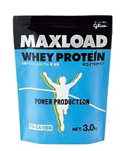 グリコ パワープロダクション マックスロード ホエイプロテイン サワーミルク風味 3kg