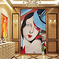 Wuyyii カスタム3D大きな写真の壁紙壁画油絵入り口廊下ポーチリビングルームテレビ壁の装飾壁画