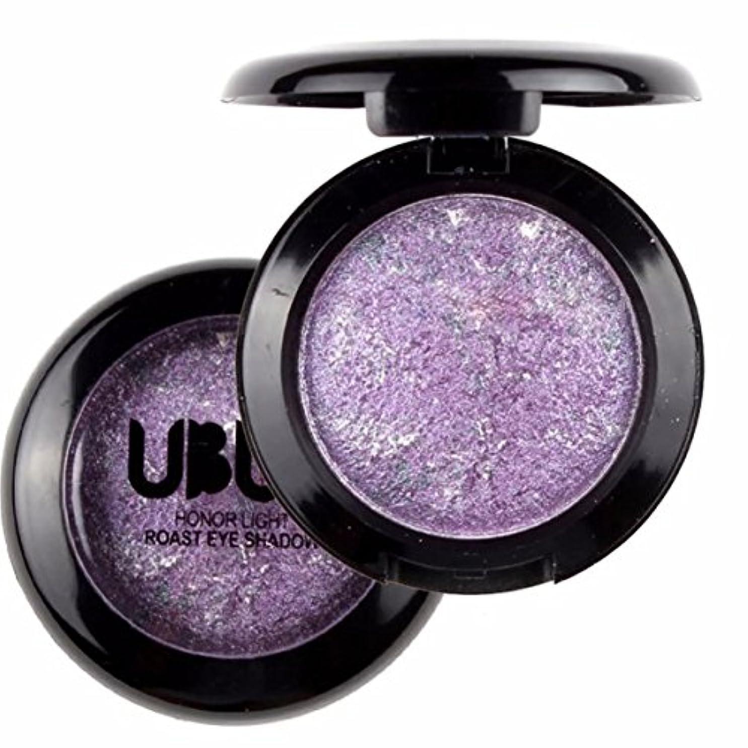 鳴らす合理化マイナスRose Purple 1pcs Lady Beauty Single Baked Eye Shadow Powder Palette Eyeshadow Palette