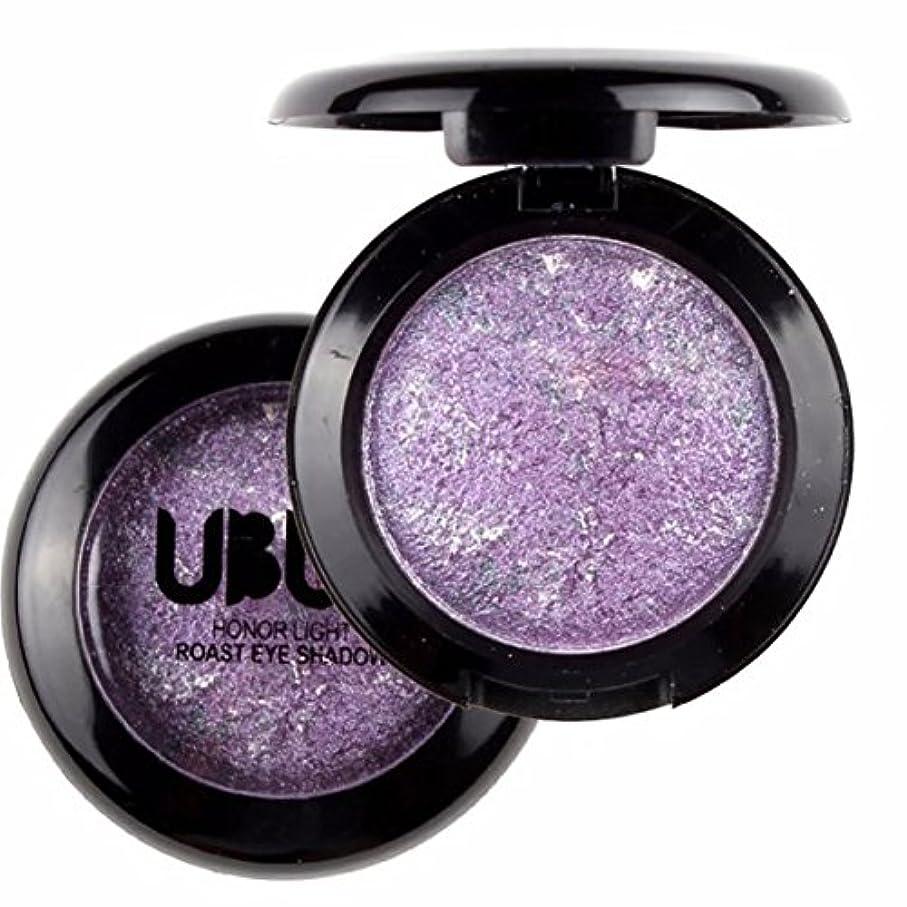 郵便物アレイ足音Rose Purple 1pcs Lady Beauty Single Baked Eye Shadow Powder Palette Eyeshadow Palette