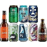 IPAクラフトビール飲み比べ8種セット ブリュードッグロゴグッズ2個付 パンクIPA 雷電 インドの青鬼