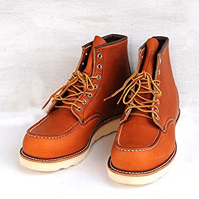 "RED WING(レッド ウィング)CLASSIC WORK/6""MOC-TOE 【875】[正規取扱] (8.5(26.5cm), ORO LEGACY)"