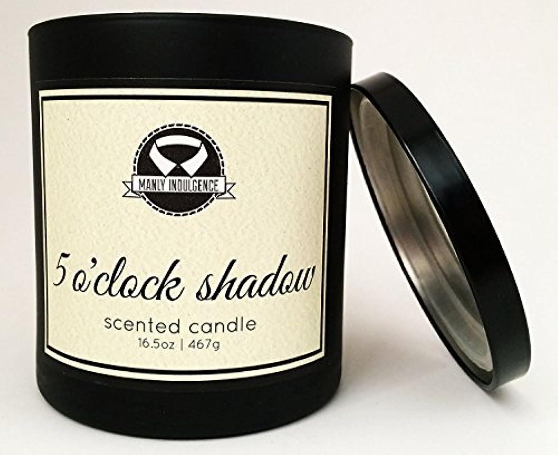 探検チロ新年Manly Indulgence ミッドナイト香り付きキャンドル 芯1個 16.5オンス 16.5 oz ブラック 1
