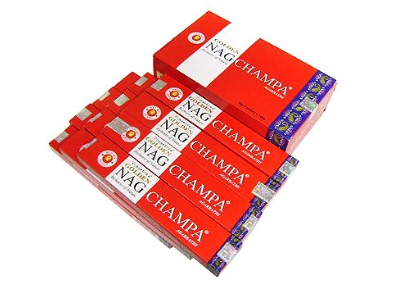 一元化する有名人機械的VIJAYSHRE(ヴィジェイシリー ゴールデン) NAG CHAMPA ゴールデン ナグチャンパ香 スティック 12箱セット