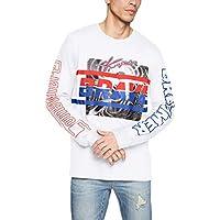 (ディーゼル) DIESEL メンズ Tシャツ T-JOE-LS-SC T-SHIRT 00S92M0091B