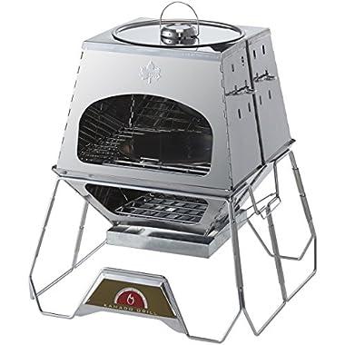 ロゴス 焚き火台 the KAMADO 多機能万能調理グリル ダッチオーブン使用可能 81064150
