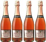 [4本セット] モスカート スプマンテ ロゼ(Moscato Spumante Rose) NV ロゼ イタリア ピエモンテ 750ml×4本