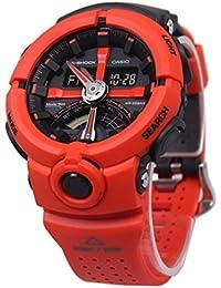 カシオ CASIO Gショック G-SHOCK パンチングパターンシリーズ メンズ 腕時計 GA-500P-4A ブラック/オレンジ[並行輸入品]