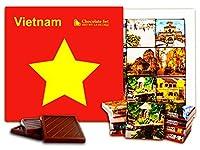 """DA CHOCOLATE キャンディ スーベニア """"ベトナム"""" チョコレートセット 5×5一箱 (Star)"""