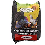 Poultry Seed Mix Open Range 5kg Premium Quality Bird Food Green Valley