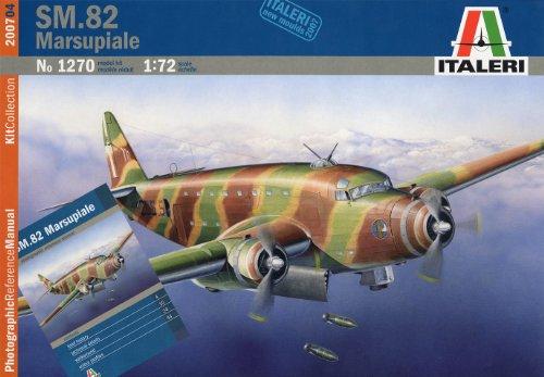 サボイア・マルケッティ SM.82 マルスピアーレ (資料写真集付) 38070 (タミヤ イタレリ 1/72 飛行機シリーズ 1270)