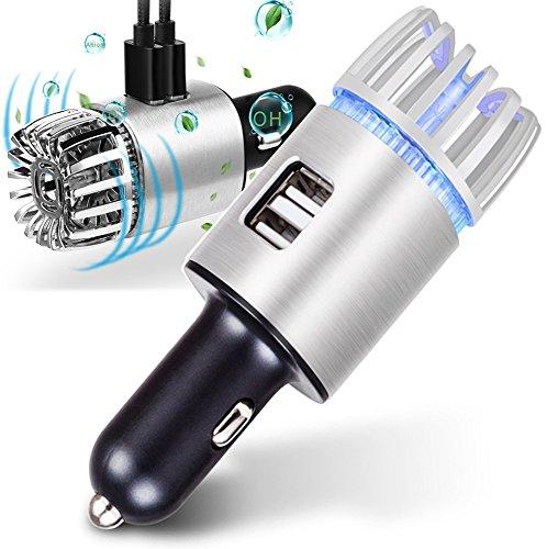 車載 空気清浄機 イオン発生器 エアクリーナー (5V/2....