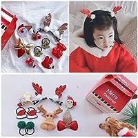 コングミンノ を子供ヘアピンヘッドドレス、素敵なヘッドバンド韓国バージョンヘアピン女の子ロープクリスマス装飾品