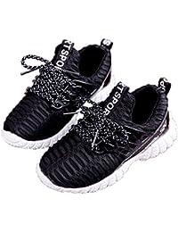ベビーシューズ スニーカー 子供靴 ボーイズ ガールズ シューズ 女の子 男の子 耐摩耗性 、 通気性 、滑り止め、耐久性、衝撃緩和 (13.0cm-17.5cm)