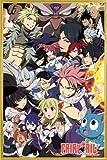 ポスター: Fairy Tailポスター???Season 6キーアート( 36?x 24インチ) 24  x 36  Inch 106624R045