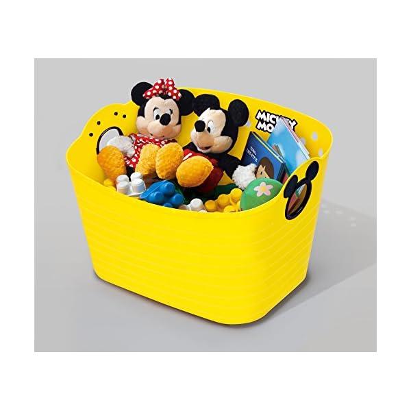 錦化成 収納ボックス ミッキーマウス やわらか...の紹介画像5