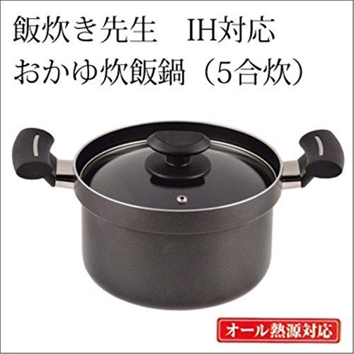 炊飯鍋 直火で炊く 鍋 5合...