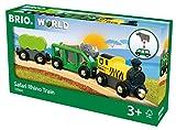 BRIO (ブリオ) WORLD サファリライノトレイン[木製レール おもちゃ]33964