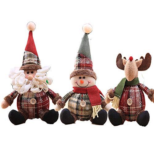 クリスマス用 オーナメント クリスマスツリー飾り ぬいぐるみ