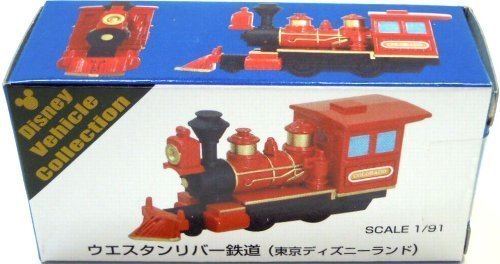 RoomClip商品情報 - 【東京ディズニーリゾート ウエスタンリバー鉄道(赤) トミカ】 TDR DISNEY Vehicle Collection TDL WESTERN RIVER RAILROAD Tomica