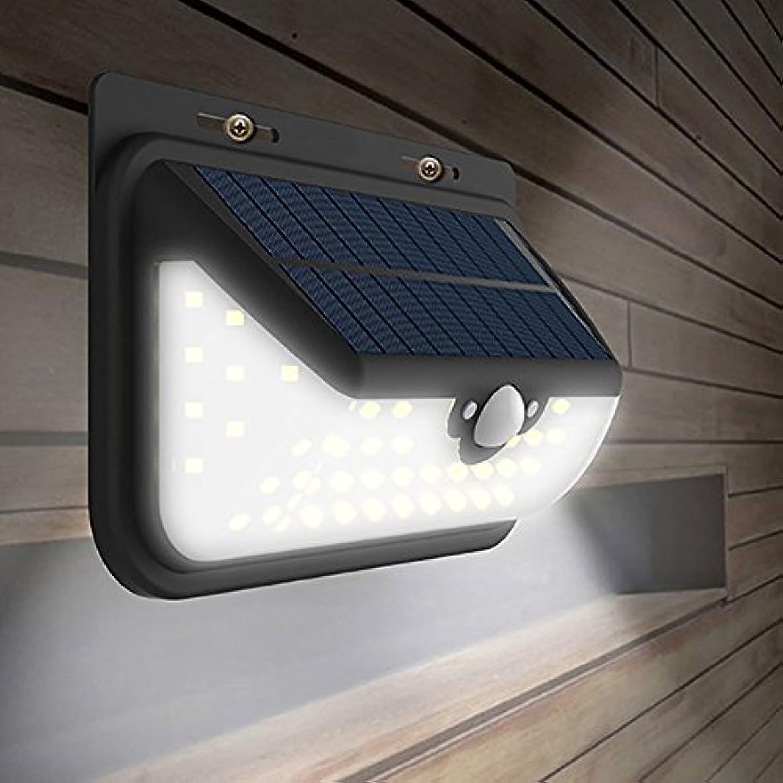申し立て目に見える相対性理論ソーラーライトLEDモーションセンサーセキュリティライト庭、フェンス、パティオ、庭、歩道、ドライブウェイ、外壁、防水、3つのIntelligientモード、68 LED、4400mAhのソーラーパワードライト屋外灯