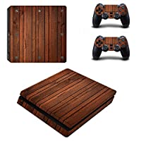 Linyuan 安定した品質 0033* Skin Sticker Vinyl Decal Cover for PlayStation PS4slim Console+Controllers