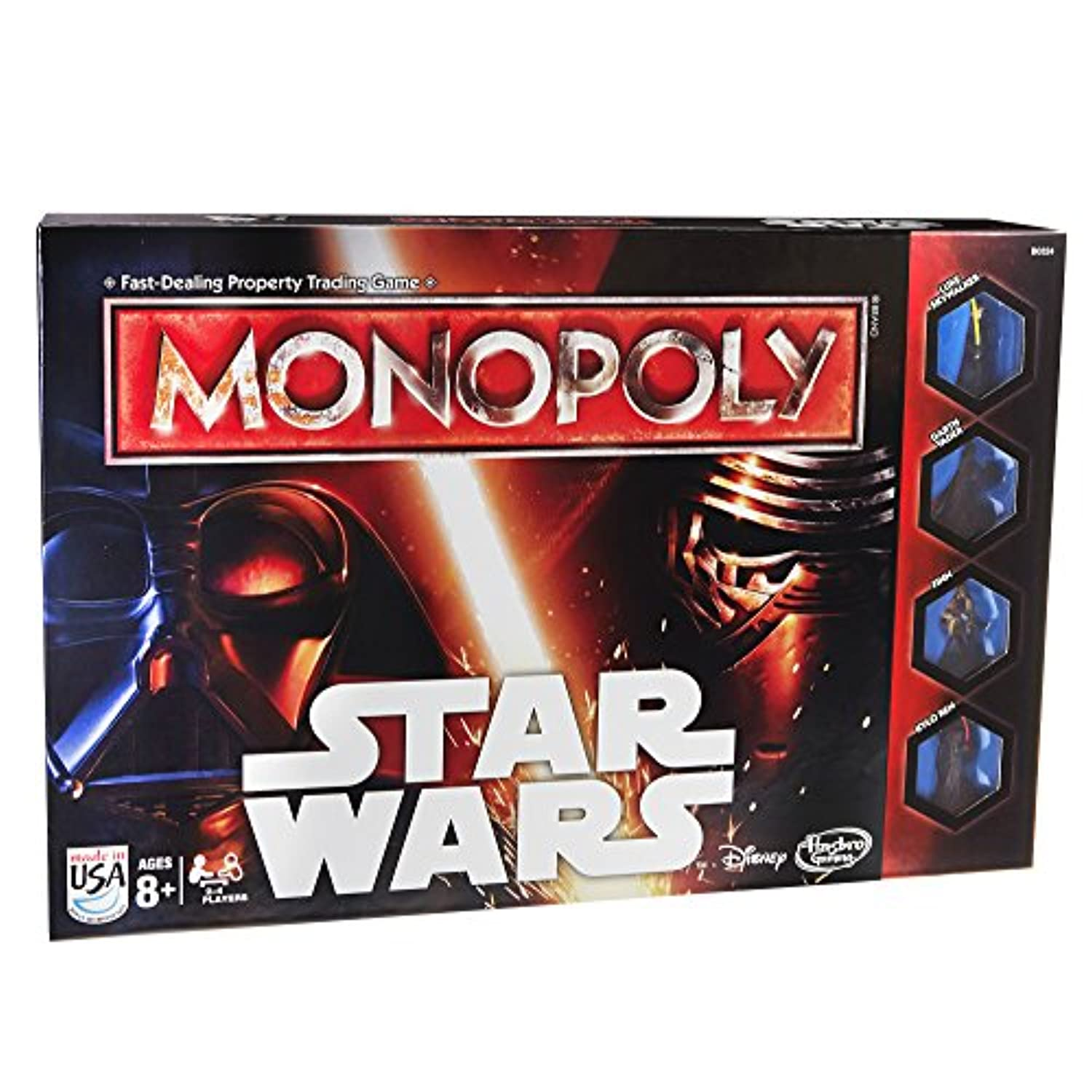 [ハスブロ]Hasbro Monopoly Game Star Wars B0324 [並行輸入品]