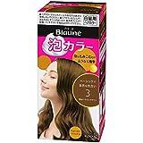 【花王】ブローネ泡カラー 3 明るいライトブラウン 108ml ×5個セット