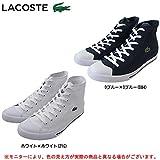 (ラコステ) LACOSTE L27 MID LCR2 スニーカー MAE002 21G ホワイト LC047 42A(27.0-27.5cm)