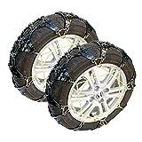 非金属 タイヤチェーン スノーチェーン ジャッキアップ不要 雪道 滑り止め すべり止め サイズ:T50 FJ4561-t50