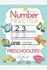 Number Tracing Book for Preschoolers and Kids Ages 3-5: Trace Numbers Practice Workbook for Pre K, K Paperback