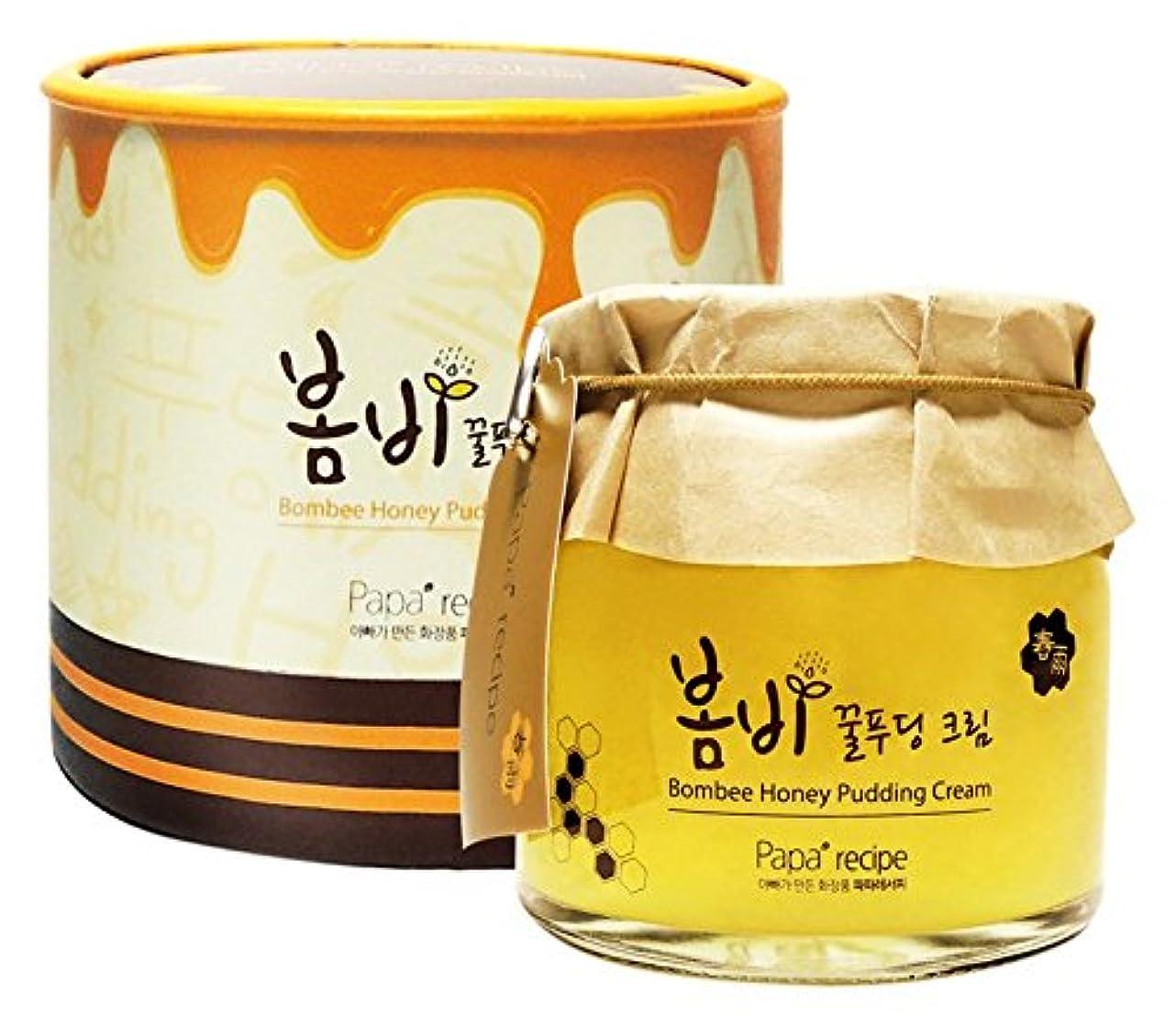 背骨居心地の良い口ひげPapa recipe Bombee Honey Pudding Cream 135ml/パパレシピ ボムビー ハニー プリン クリーム 135ml