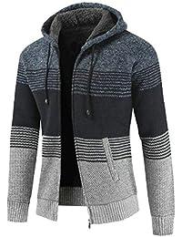 Fly Year-JP メンズフーディーウインターウォームフリースはジップアップセータージャケットアウトコートコート