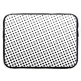 GoodPlus 男女兼用 PC収納カバン 衝撃吸収 保護用スリーブカバー 清新な点々 PC用キャリングバッグ おしゃれ インナーケース 実用型 撥水加工 13インチ 15インチ 対応