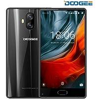 "SIMフリースマートフォン, DOOGEE MIX LITE(デュアル SIMフリー 5.2"" 4G(au不可) 3080mAh Android 7.0 MT6737 2+16GB ROM 13MP+13MP デュアル リアカメラ Nano+Nano SIM)スマートフォン本体 ブラック"