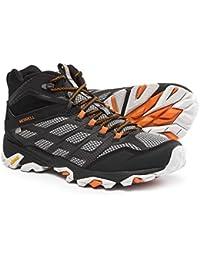 (メレル) Merrell メンズ ハイキング?登山 シューズ?靴 Moab FST Mid Hiking Boots - Waterproof [並行輸入品]