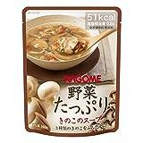 カゴメ 野菜たっぷりスープ きのこのスープ 160g×30袋