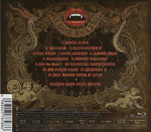 SEX BLOOD ROCK N' ROLL(初回限定盤A)(SHM-CD+Blu-ray)