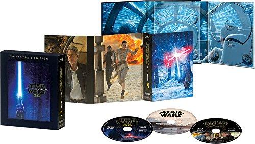 スター・ウォーズ/フォースの覚醒 3Dコレクターズ・エディション [Blu-ray]
