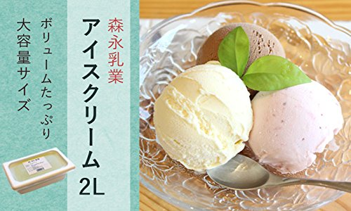 森永 アイスクリーム (アイスクリーム 2L EX バニラ 森永 業務用 2000ml)